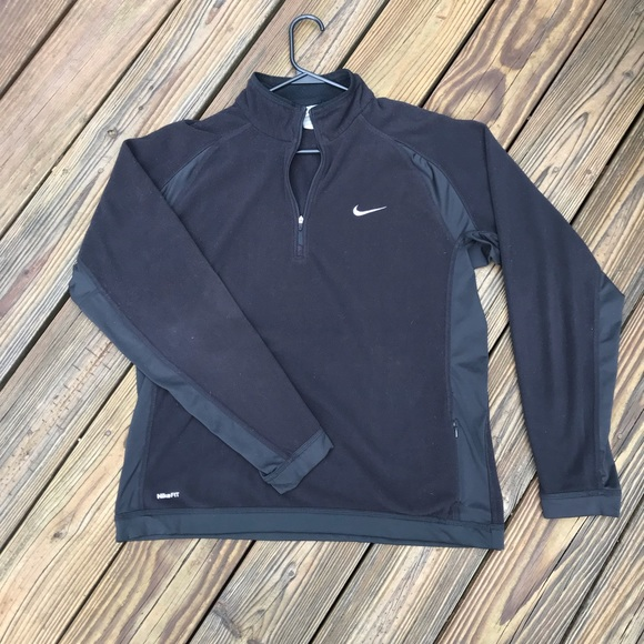 Nike Other - Nike Fit Therma 1/4 Zip Fleece Pullover